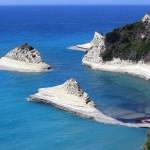 Plaje din Insula Corfu