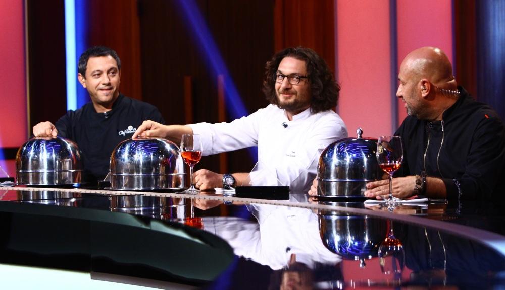 Chef Florin Dumitrescu, în juriul Chefi la cuțite, alături de Sorin Bontea și Cătălin Scărlătescu