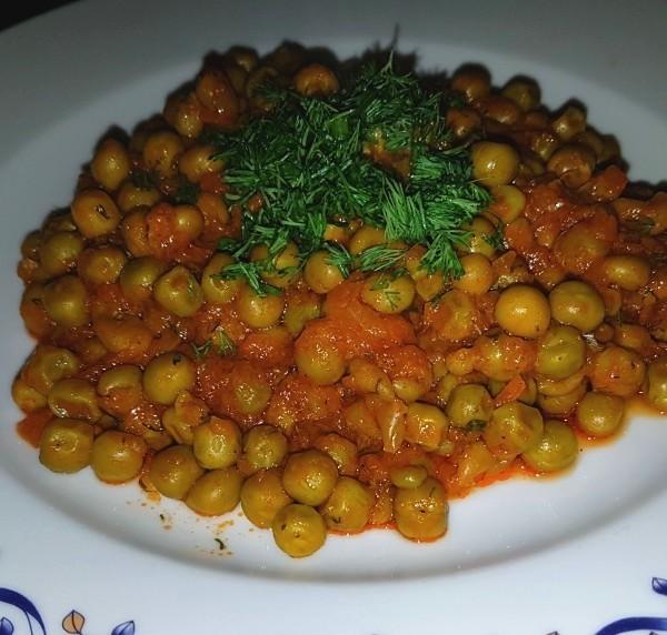 Mâncare de mazăre de post - rețetă ușoară și rapidă